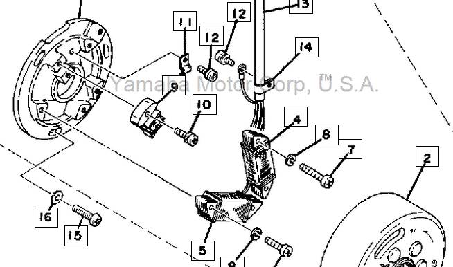 Yamaha Dt360    Wiring       Diagram    Vehicle Vehicle    Wiring    Diagrams